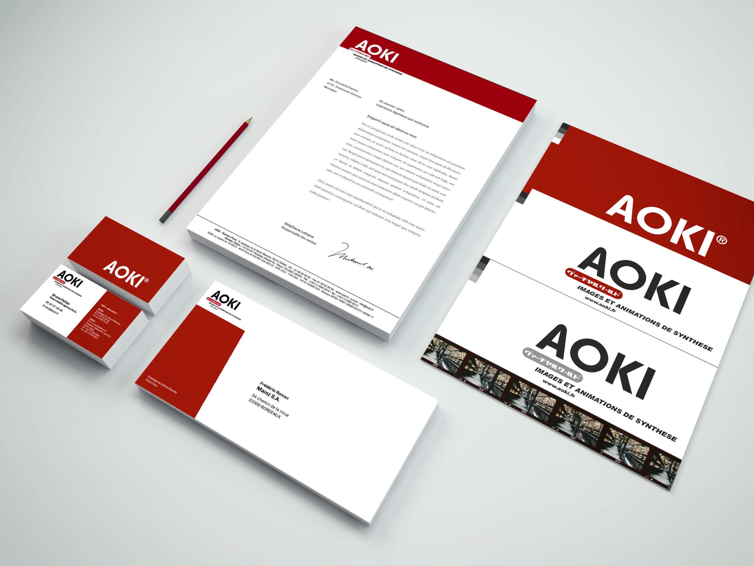 AOKI-stationnery